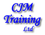C J M Training logo